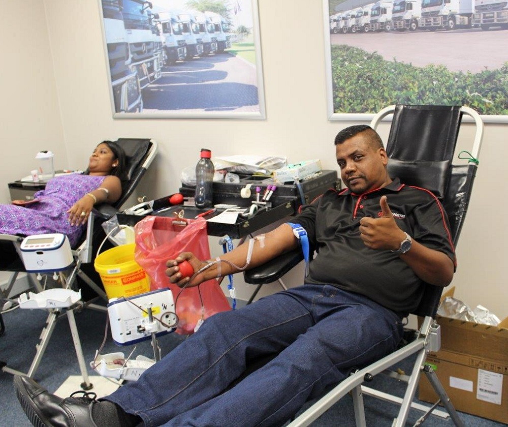 City Logistics, SANBS, Blood Donor Days, Blood Bank, Giving Back, Company News
